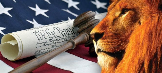 Lion-and-constitution